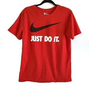 Red Nike T shirt